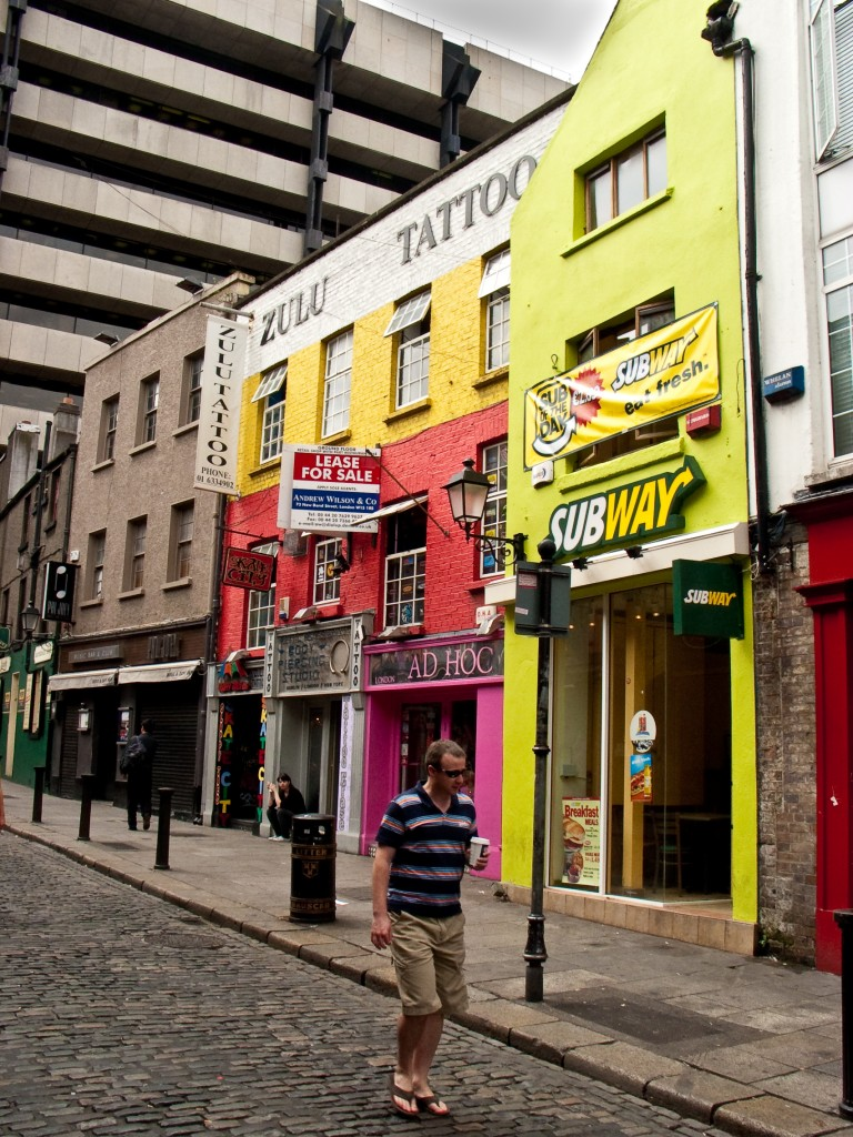 Irlandia, Ireland, Dublin, Temple Bar